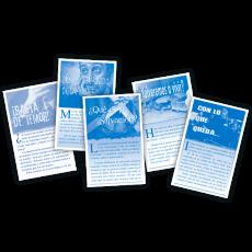 Dieciocho  clase de folletos a dos colores x 2000