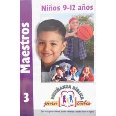 EBPT. Maestros 3. Niños 9-12 años.