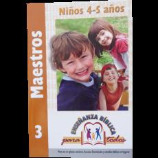 EBPT. Maestros 3. Niños 4-5 años.