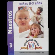 EBPT. Maestros 3. Niños 0-3 años.