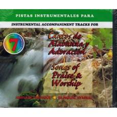 Cantos de alabanza y adoración (Juego de 7 discos compactos)