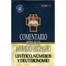 Levítico, Número y Deuteronomio. Comentario BMH. Tomo 3