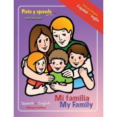 Pinto y Aprendo mi familia