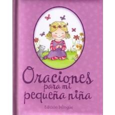 Oraciones para mi pequeña niña Edición bilingüe