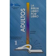 LIBRO 1: Génesis-Mateo Adultos