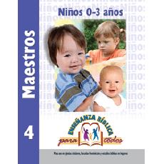 EBPT Niños 0-3 Años Maestros 4