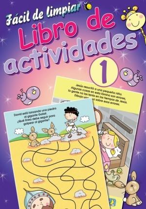 Fácil de limpiar libro de actividades 1