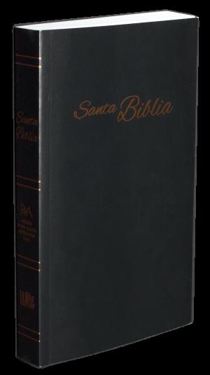 Biblia RVA-2015 Negra tapa blanda