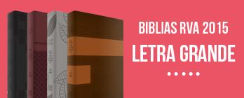 Biblias RVA 2015 Letra Grande